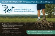 Insights Into Practical Advancements in Therapy