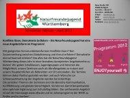 Download Newsletter ca. 180kb - NaturFreunde OG Neuffen