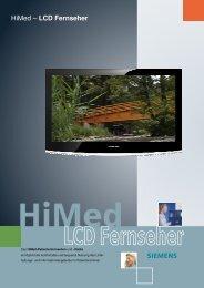 HiMed – LCD Fernseher - Siemens