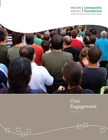 Civic Engagement Issue Brief - Silicon Valley Community Foundation