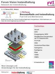 Forum Vision Instandhaltung - Westfälisches Energieinstitut