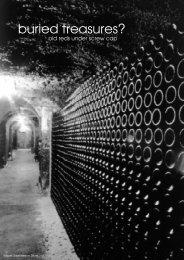 buried treasures? - Wein-News SigiHiss