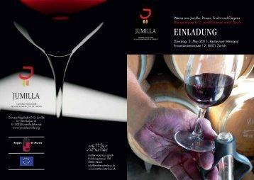 einladung - Wein-News SigiHiss
