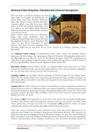 diamondcreek - Wein-News SigiHiss