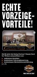 Flyer - Harley Davidson