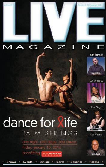 lIVE MAGAZINE VOL 8, Issue #199 December 26th THRU January 9th, 2015