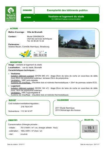 FA Brumath - Vivre en Alsace du Nord