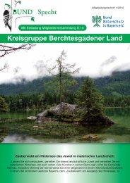 Zum Bundspecht - Bund Naturschutz in Bayern eV