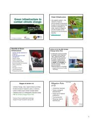 Green Infrastructure and Hydrology Seminar (May 2009)