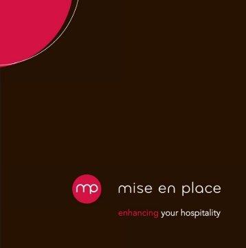 Mise en Place Broschüre 1 (PDF)