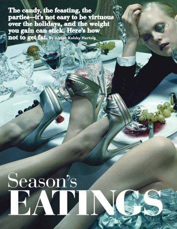 Season's Eatings - Alyssa Hertzig