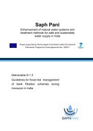 Deliverable 1.2 Guidelines for flood-risk management of ... - Saph Pani
