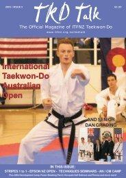 International Taekwon-Do Australian Open International Taekwon ...