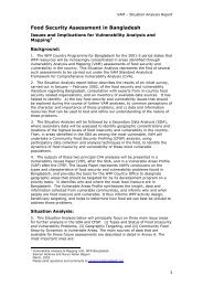 Food Security Assessment in Bangladesh- Issues and ... - nirapad