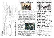 17.Juni Le Clou - Olof-Palme-Haus