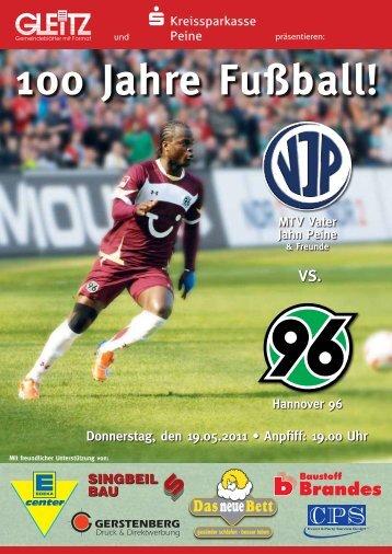 Die Stadionzeitung zum Spiel (Download als PDF-Datei - Gleitz GmbH