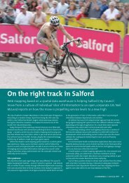 On the right track in Salford - Cadcorp