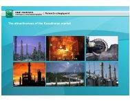 The attractiveness of the Kazakhstan market - The Asset
