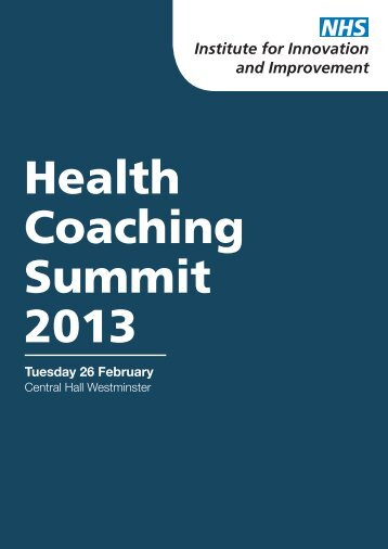 Download Health Coaching Summit event guide - Primary Care ...