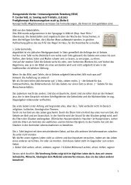 10. Sonntag nach Trinitatis - Verden
