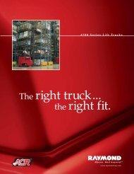Series 4700 Brochure - Raymond Corporation