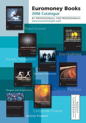 Euromoney Books - Euromoney Institutional Investor PLC