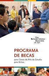scho prog programa de becas - The Nelson-Atkins Museum of Art