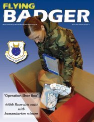 """Operation Shoe Box"" 440th Reservists assist ... - 440th Airlift Wing"