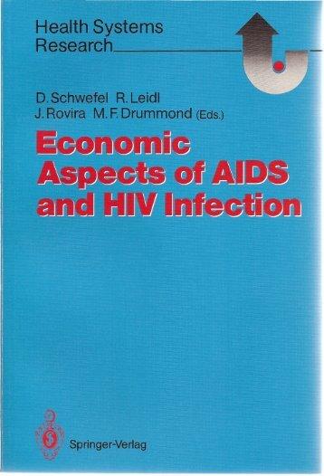 Economic Aspects ofAIDS and HIV Infection - Detlef Schwefel
