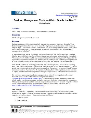 Desktop Management Tools — Which One Is the Best?