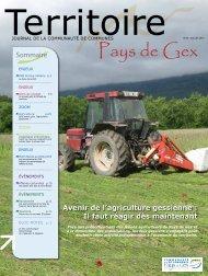 Sommaire - Communauté de Communes du Pays de Gex