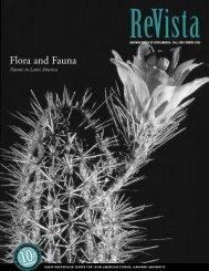 Flora and Fauna - Harvard University