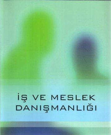 İş ve Meslek Danışmanlığı Eğitim Kitabına ... - Türkiye İş Kurumu
