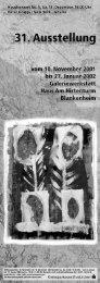 Marion Menzel: T abakpflanzen - Galeriewerkstatt Haus am Hirtenturm