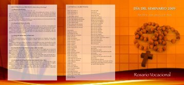 Rosario Vocacional - Conferencia Episcopal Española