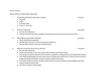 100 point essay rubric