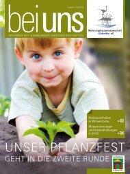 Unser Pflanzfest - Wohnungsbaugenossenschaft Süderelbe eG