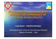 environmental management system: the experience ... - About Project