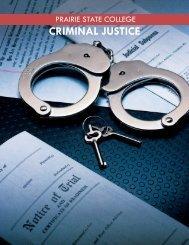 Criminal Justice Fact Sheet - Prairie State College