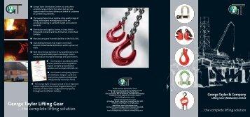 gt uk mini brochure - George Taylor & Company