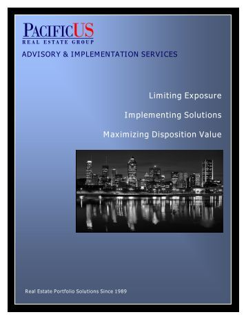 Advisory and Implementation Services Brochure - PacificUS Real ...
