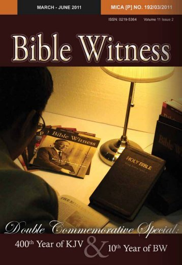 Double Commemorative Special - Bible Witness Media Ministry