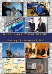 Weekly analytical report: January 28 - February 3, 2013 - Українська ...