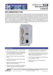 CNC-Steuerung E•ENC55 DIE EMBEDDED CNC - IGAS