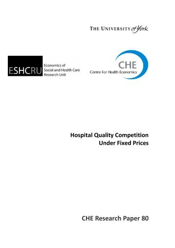 Cherp80 hospital quality competition fixedprices