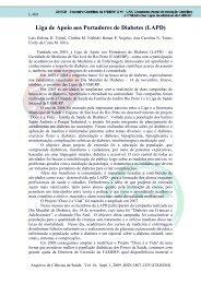 Liga de Apoio aos Portadores de Diabetes (LAPD) - Revista ...