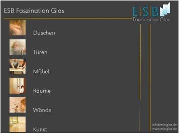 Ein Bad aus Glas - ESB GmbH