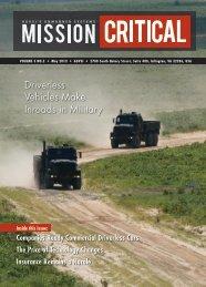 Driverless Vehicles Make Inroads in Military - Velodyne Lidar