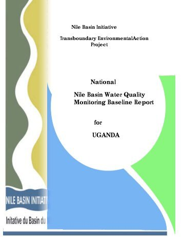 National Nile Basin Water Quality Monitoring Baseline Report for ...