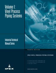 Volume I: Vinyl Process Piping Systems